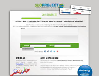 seoproject.com screenshot