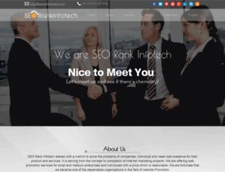 seorankinfotech.com screenshot