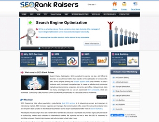 seorankraisers.com screenshot