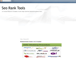 seoranktools.blogspot.com screenshot