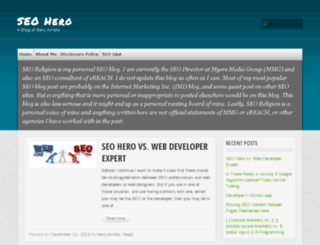 seoreligion.com screenshot