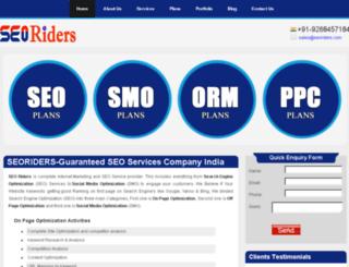 seoriders.com screenshot