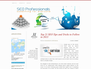 seoservicesproviderinindia.wordpress.com screenshot