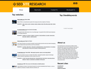 seositeresearch.com screenshot