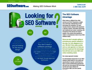 seosoftware.com screenshot