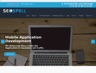 seospell.co.in screenshot