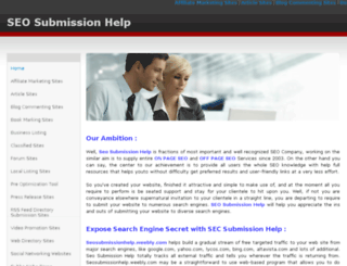 seosubmissionhelp.weebly.com screenshot