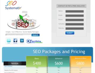 seosystematix.com screenshot
