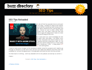 seotips.buzz-directory.com screenshot