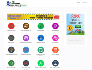 seotools.trafficsninja.com screenshot