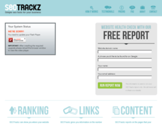 seotrackz.co.uk screenshot