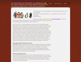 seotrainingcourseinnewdelhi.webs.com screenshot