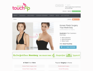 seoultouchup.com screenshot