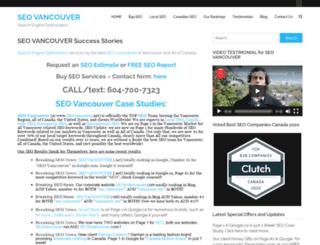 seovancouver.net screenshot