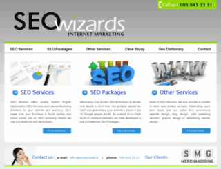 seowizards.ie screenshot