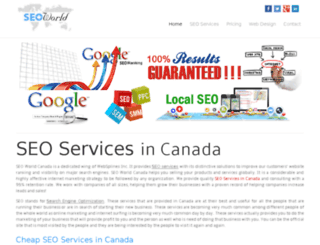 seoworld.ca screenshot