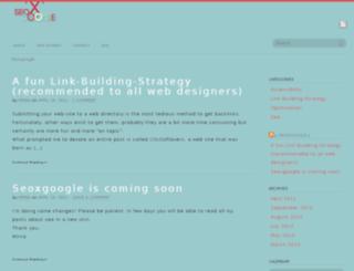 seoxgoogle.net screenshot