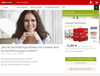 sepa-umstellung-buchhalter.lexware.de screenshot