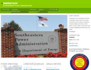 sepa.doe.gov screenshot