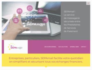 sepamail.eu screenshot