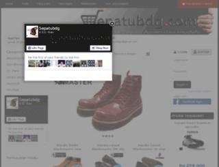 sepatubdg.com screenshot