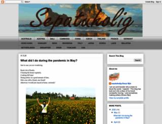 sepatuholig.blogspot.it screenshot
