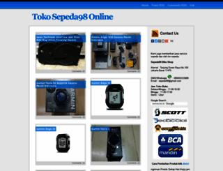 sepeda98.com screenshot