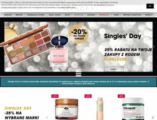 sephora.pl screenshot