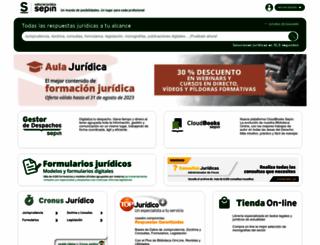 sepin.es screenshot