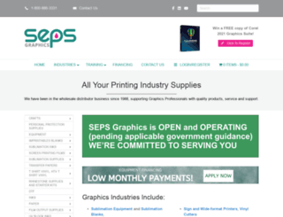 sepsgraphics.com screenshot