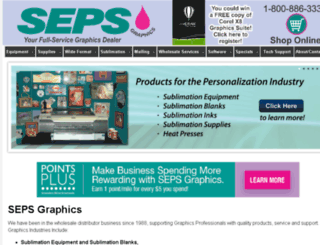 sepsgraphics.ihoststudio.com screenshot