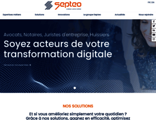 septeo.fr screenshot