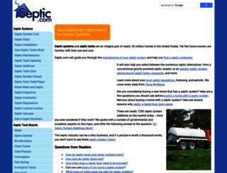 septicsystem.com screenshot