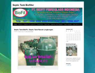 septictankbiofit.wordpress.com screenshot
