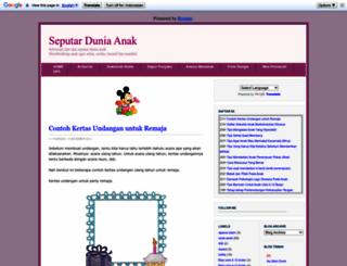 seputarduniaanak.blogspot.com screenshot