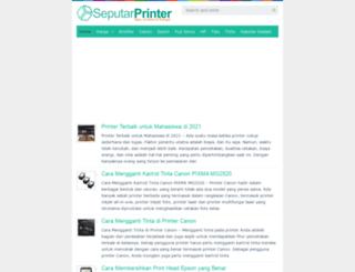 seputarprinter.com screenshot
