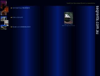 seqrents.com.au screenshot