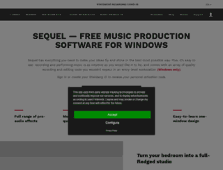 sequel-music.net screenshot
