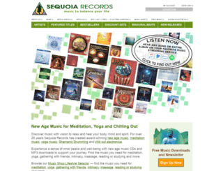 sequoiarecords.com screenshot