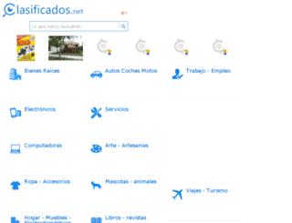 ser4.clasificados.net screenshot