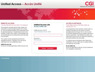 sera-lite.cgi.com screenshot