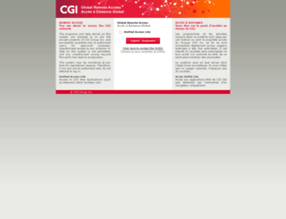 sera.cgi.com screenshot