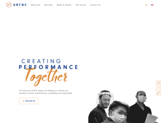 serac-group.com screenshot
