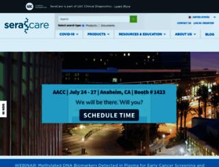 seracare.com screenshot