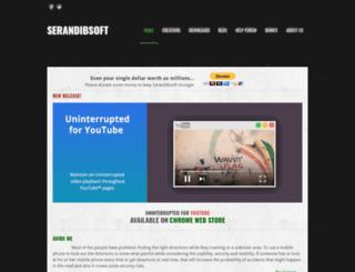 serandibsoft.com screenshot