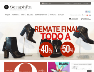 seraphita.es screenshot