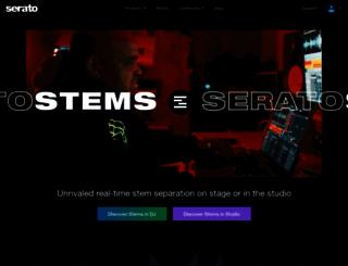 serato.com screenshot