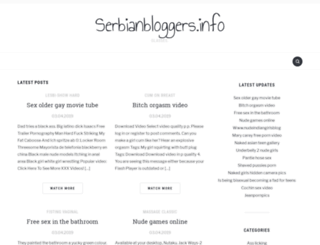 serbianbloggers.info screenshot