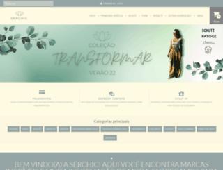 serchicmoda.com.br screenshot