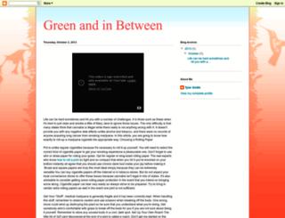 serenadeingreen.blogspot.com screenshot